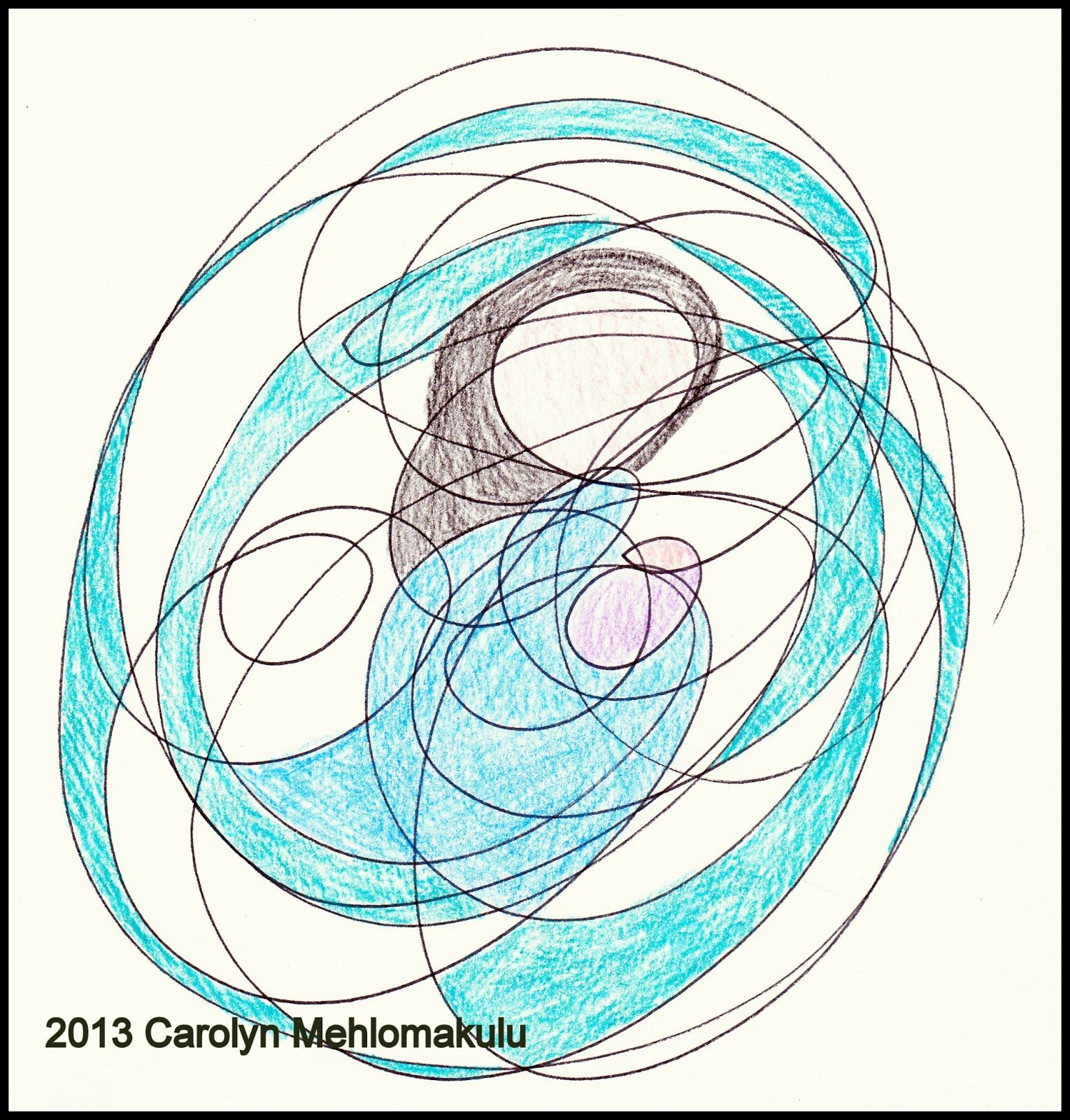 Scribble Method Drawing : Creativity in therapy interventions that include