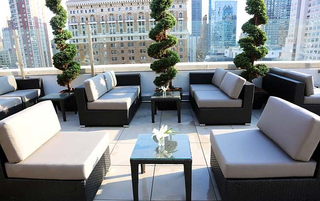 New York's Newest Rooftop: Monarch Rooftop Lounge #NYC