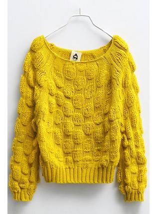 51d1fd0f7b99b Pineapple Knitted Jumper with Bat Sleeves