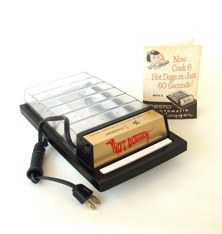 Presto Hot Dogger Electric Hotdog Cooker small kitchen appliance ...