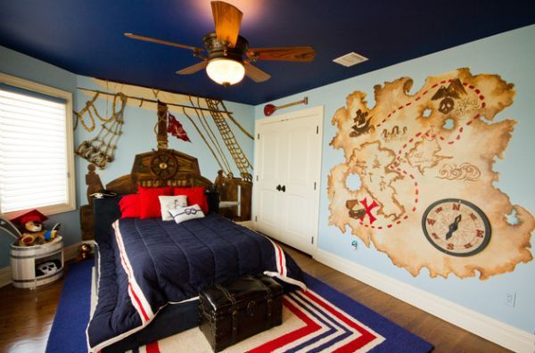 Cool Boys Room Paint Ideas For Colorful And Brilliant Interiors ...