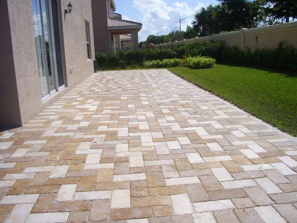 Wonderful Patio Pavers | Boca Raton Patio Pavers | Concrete Brick Pavers Installed By  An ICPI . Travertine ...