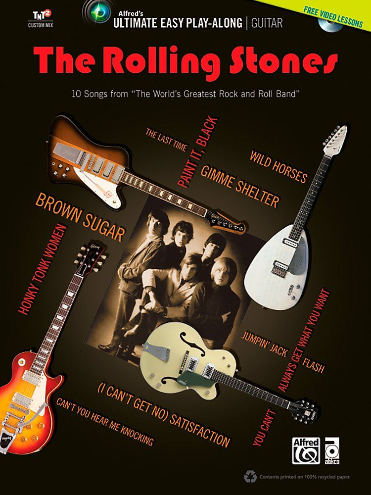 Alfred - The Rolling Stones - Ultimate Easy Guitar Play-Along ...