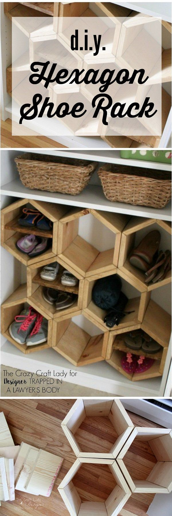 Faire Une Etagere A Chaussure check out how to build your own diy hexagon shoe rack