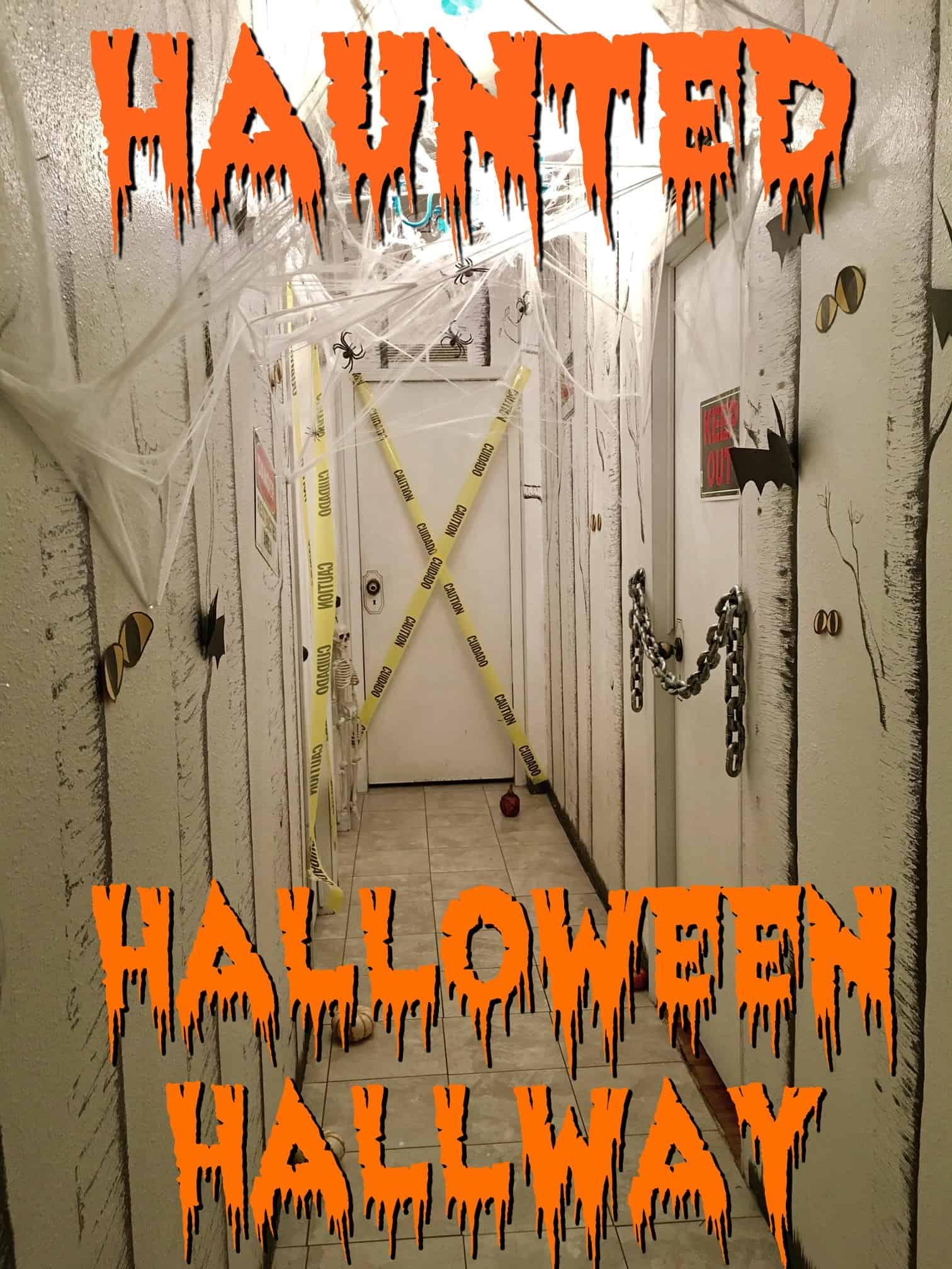 Haunted Halloween Hallway