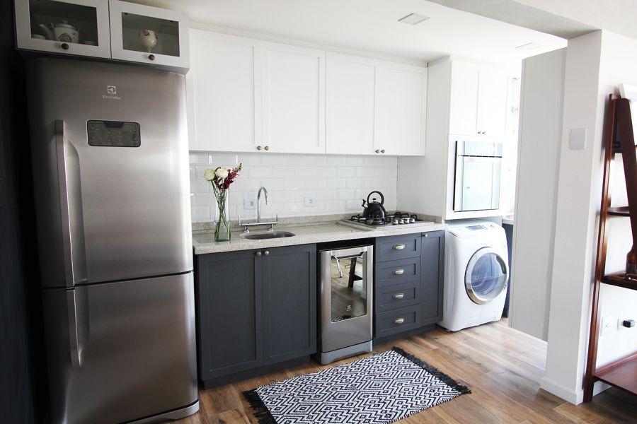 Como decorar uma cozinha pequena #cozinha #cocina #cocina pequeña ...