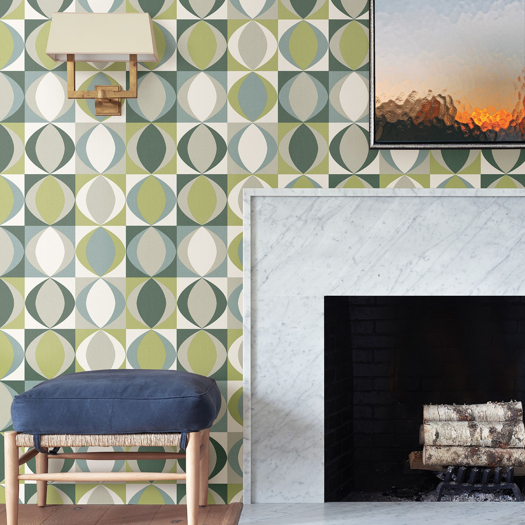 Modern and fresh, bright and contemporary, this collection