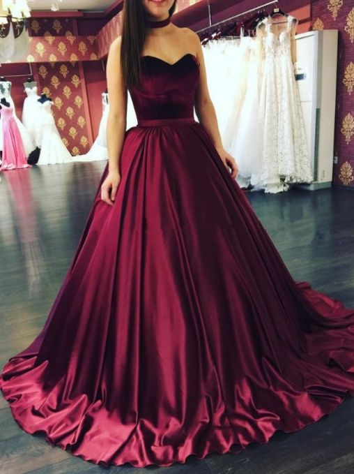 Love this beautiful red | Prom dresses sleeveless, Ball