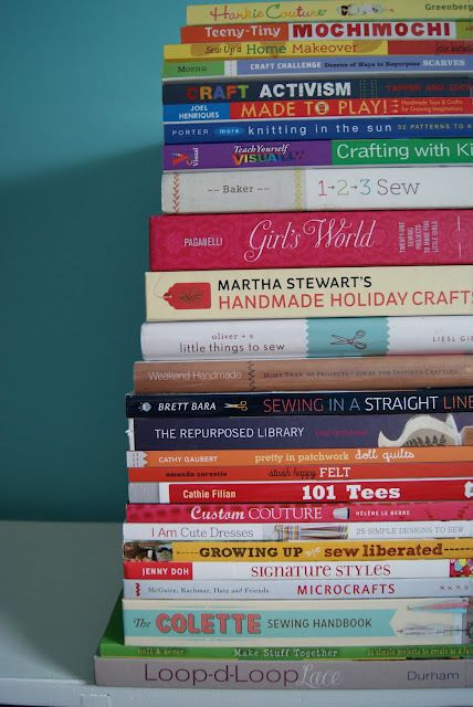 Craft books to check out.