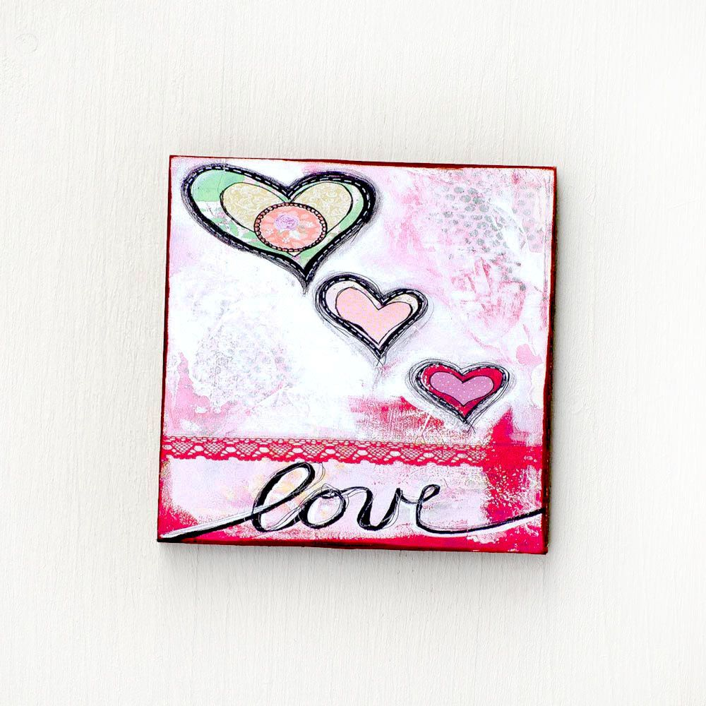 Love Magnets - Wedding Favors - Refrigerator Magnets - Heart Magnet ...