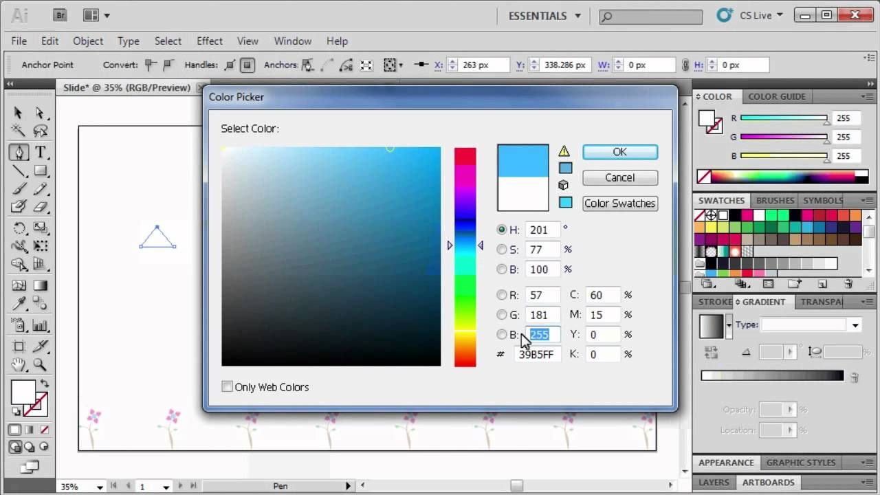 how to make a pattern in illustrator cs5