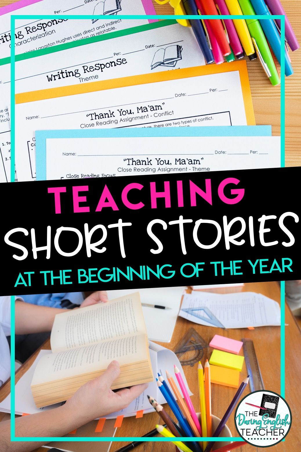 Teaching Short Stories At The Beginning Of The Year In
