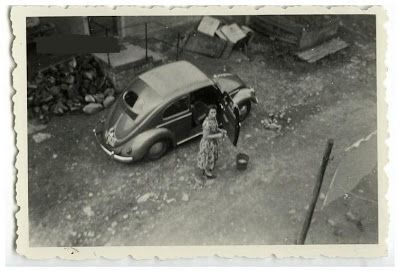 VW typ 11 G Sonnendach Golde