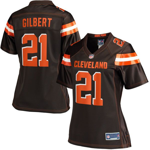 Doug Baldwin jersey Justin Gilbert Cleveland Browns NFL Pro Line Women s  Player Jersey - Brown Falcons fe080222c