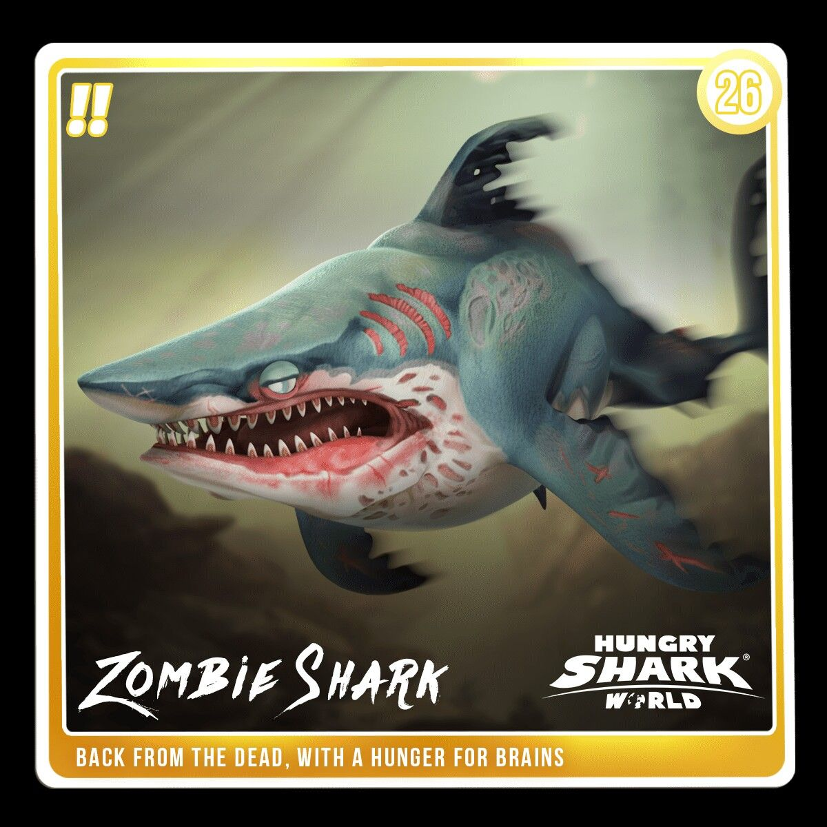 Artstation Hungry Shark World Pets Johanna Cranston