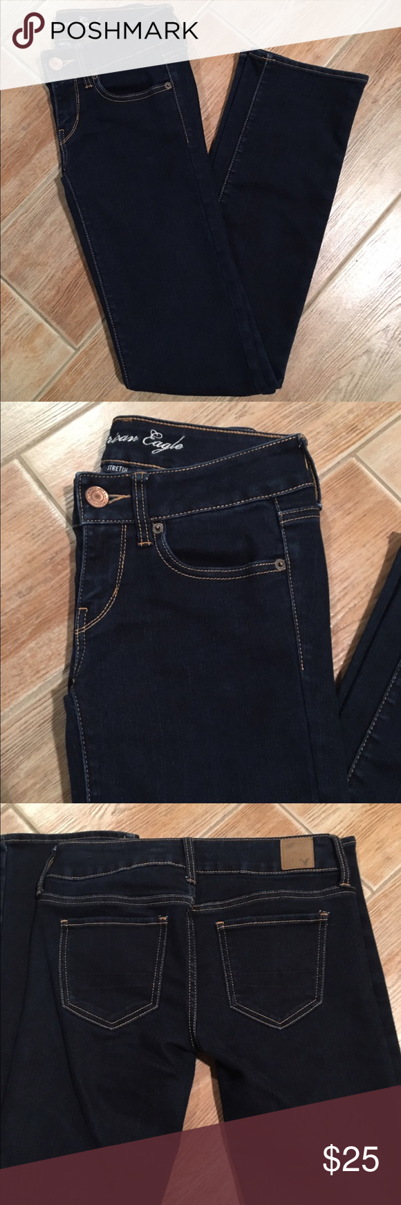 NWOT American Eagle Jeans Brand New, never worn American Eagle jeans. Perfect condition. ❤️ American Eagle Outfitters Jeans Straight Leg