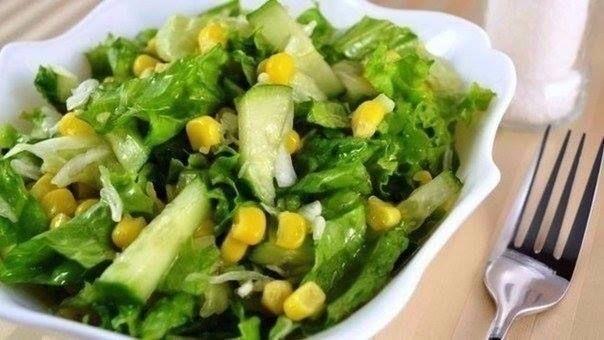Зимние овощные салаты без майонеза