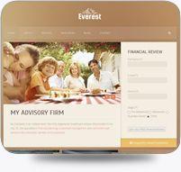 Responsive Design Advisor Website Template