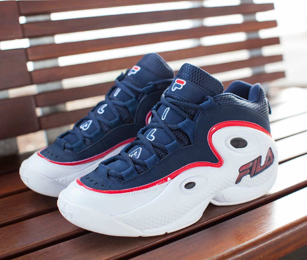 pretty nice 620f4 1d497 Fila 97 Grant Hill III 3 Retro Navy 2015   Sole Collector