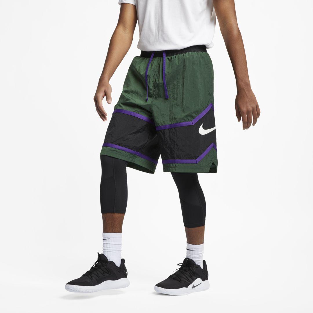 2babb2c22b6d Nike Throwback Men s Basketball Shorts Size 2XL (Fir)