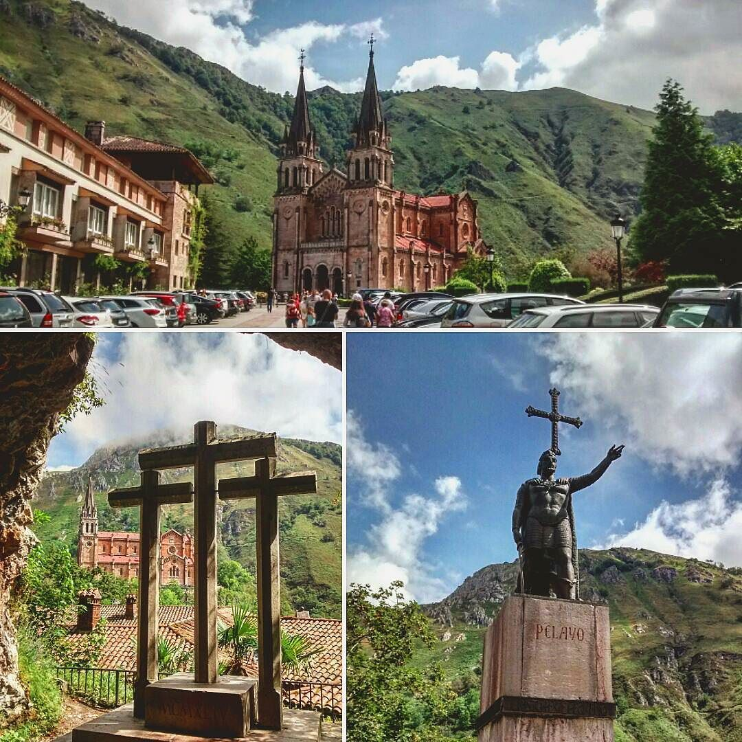 En #Instagram: Covadonga principio de la reconquista de #España encabezada por Pelayo. . #viaje #trip #collage #photo http://ift.tt/2aJFDlG