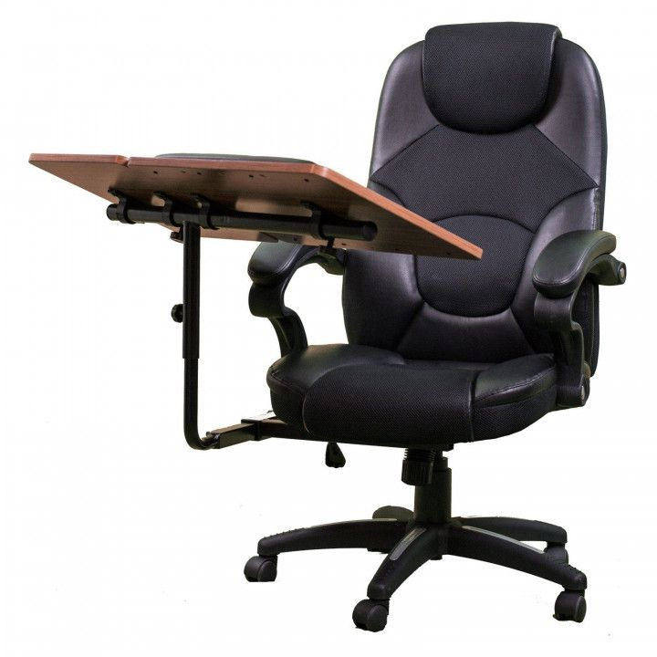 Gentil Chair With Built In Desk   Best Ergonomic Desk Chair