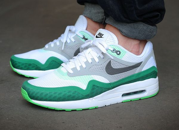 Nike Air Max 1 BR Breathe White Green (1) | shoes