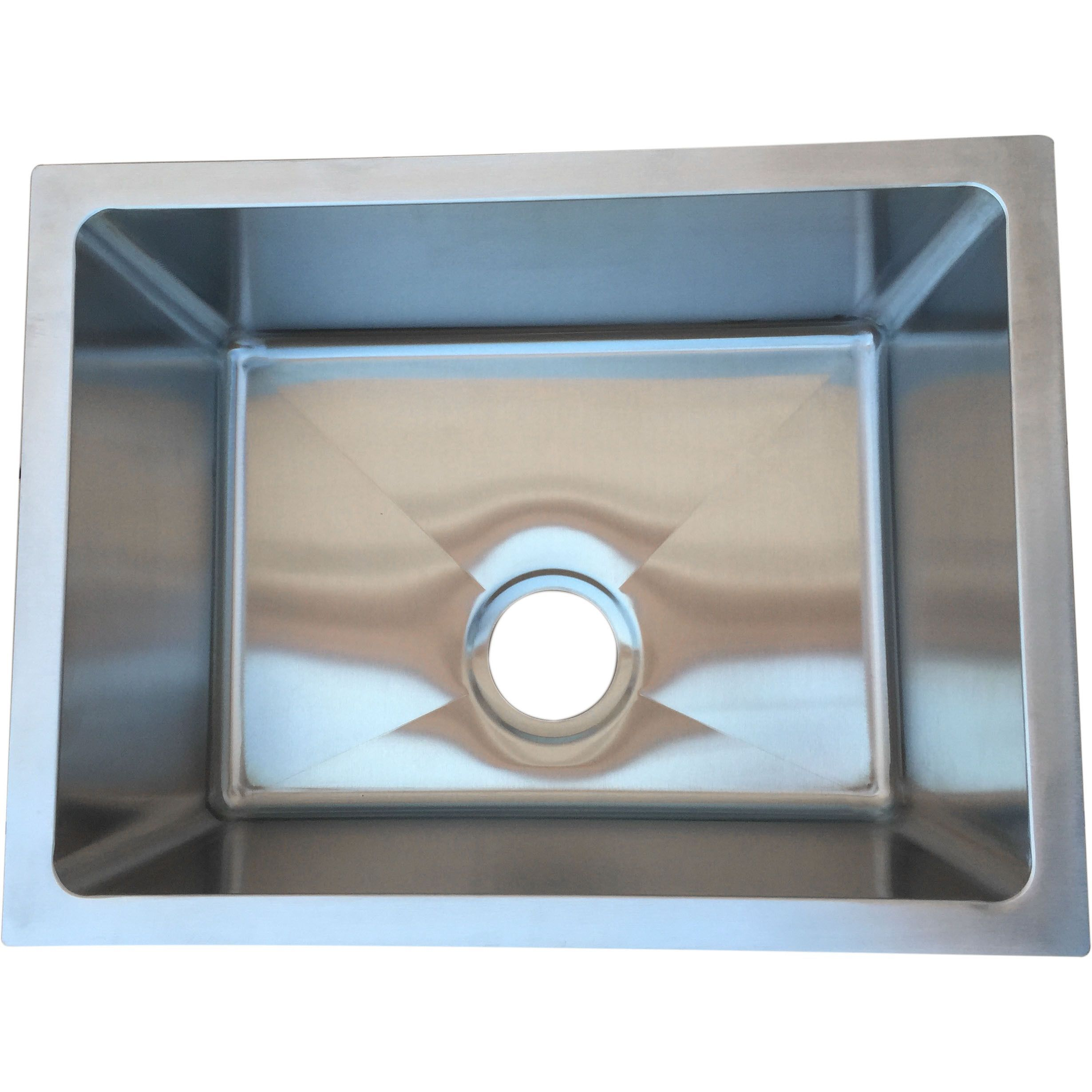 Starstar 21 X 16 Undermount 16 Gauge 304 Stainless Steel Kitchen ...