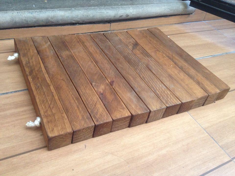 Tapete de madera