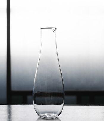 Hand-blown glass by Takara Kinoshita