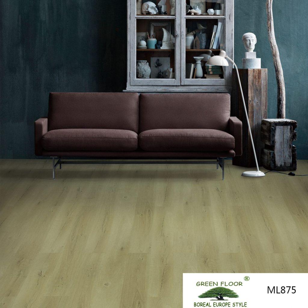 ML875 waterproof interlocking wood composite board wpc