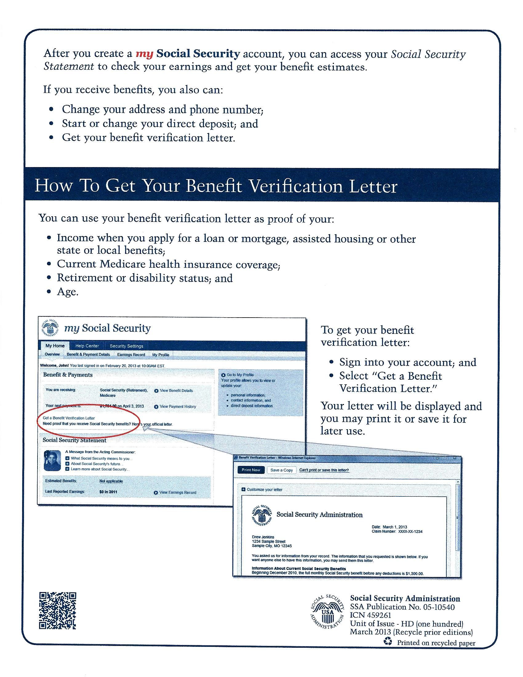 social security administration how to create an online account