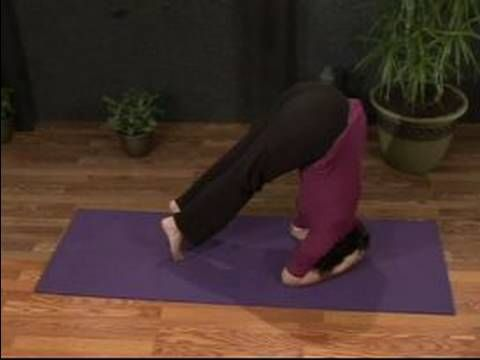 how to do the gentle lift tripod yoga headstand