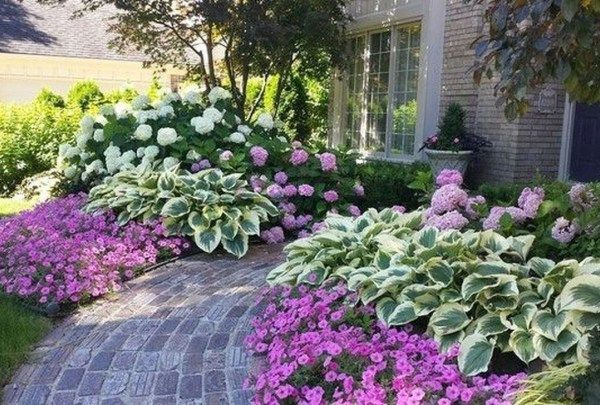 37 Adorable Backyard Garden Ideas For Your Dream House You Must Try is part of Hydrangea landscaping, Front yard landscaping design, Front yard garden, Landscaping inspiration, Front landscaping, Yard landscaping - Have you been scouring the Internet for backyard garden shed diy plans to serve as a project this weekend  You …