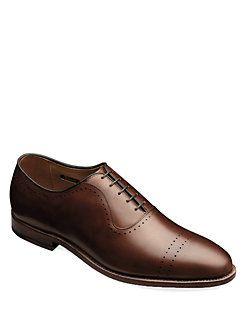 Allen Edmonds - Vernon Perforated Leather Oxfords