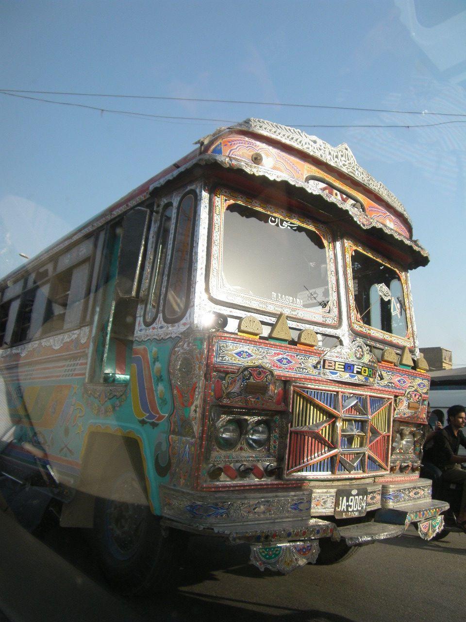 Bus Bedford At Karachi Recreational Vehicles Vehicles Rider