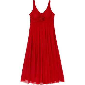 Nina Ferre Modelo 5829 Vestido Largo Con Encaje Y Mesh