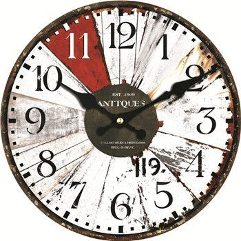 Colorful Classic Wall Clocks 3 Sizes 4 Designs With Images Wall Clock Classic Large Wall Clock Office Wall Decor