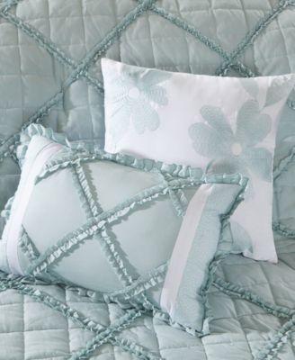 Madison Park Mindy 9 Piece Cotton Percale Duvet Cover Set