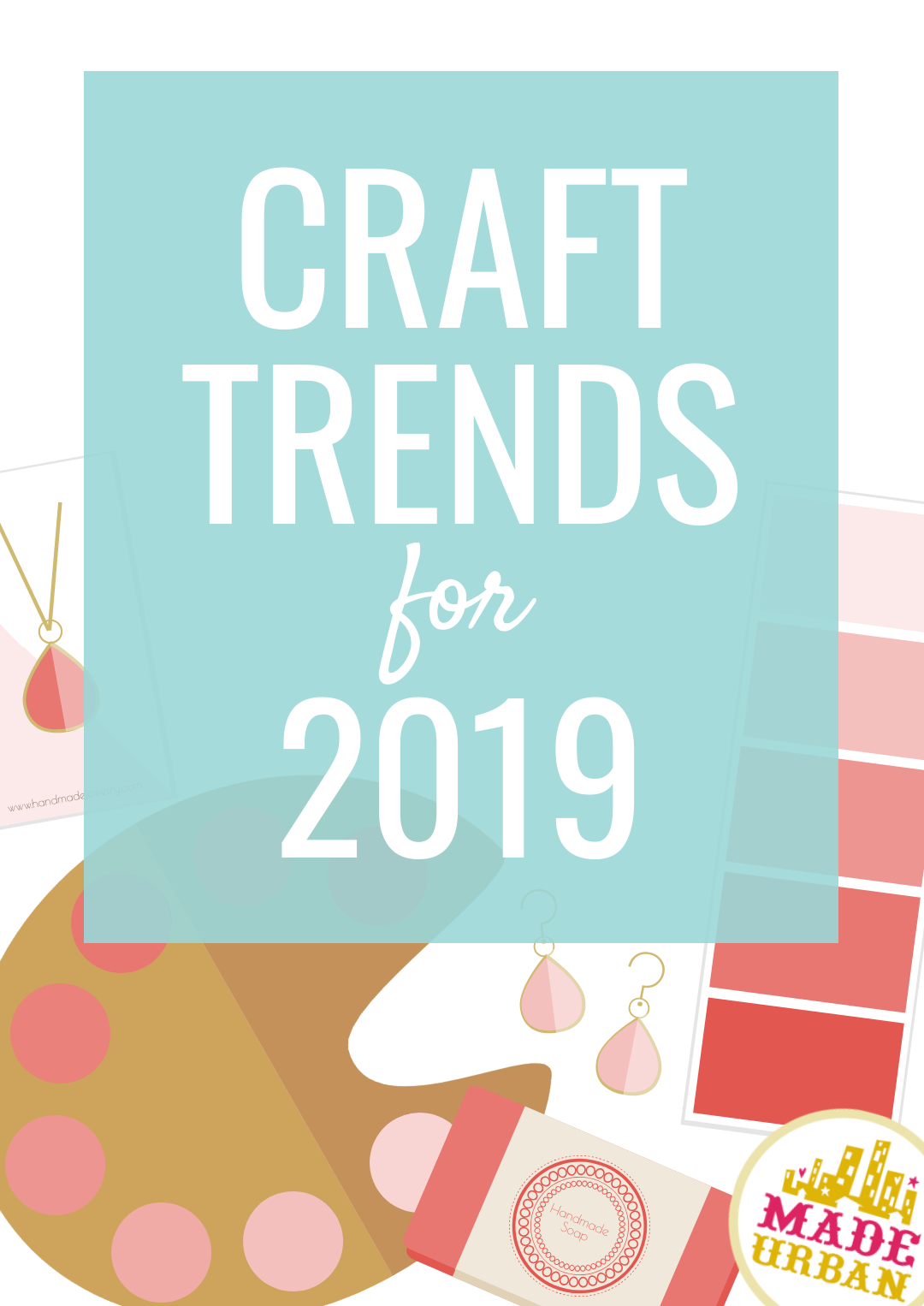 Craft Trends for 2019 | Craft Fair Ideas | Crafts, Trending