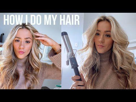 How I Curl My Hair | BIG CURLS TUTORIAL