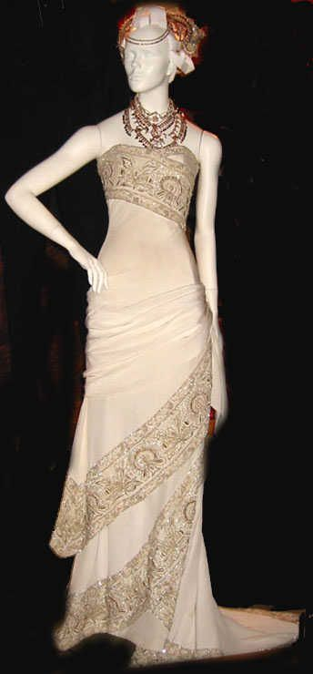 Beautiful Hindi Wedding Dress , Nicole Kidman Wore In Moulin Rouge