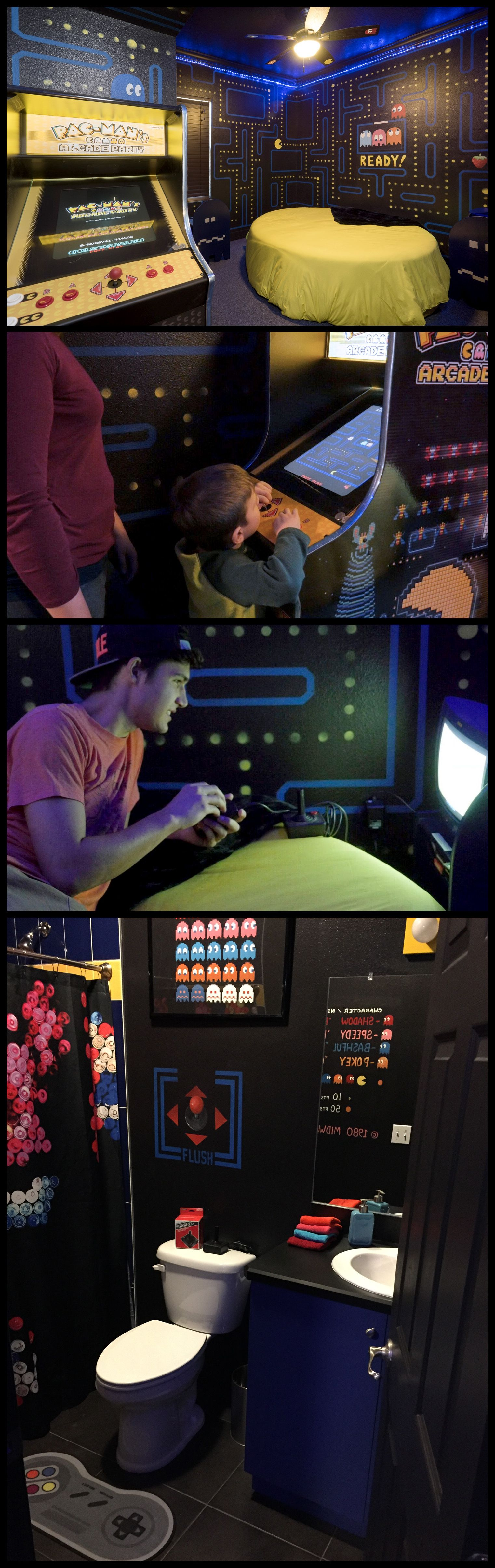 Pin en Gaming and Video Game Rooms