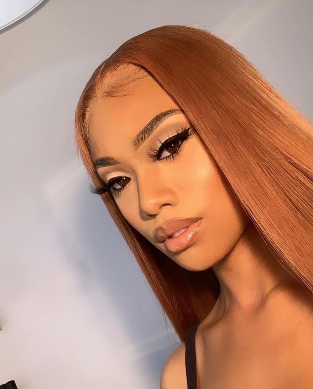 Sandy Brown Color Silky Straight Lace Front Wig Virgin Human Hair -   17 hairstyles Straight life ideas