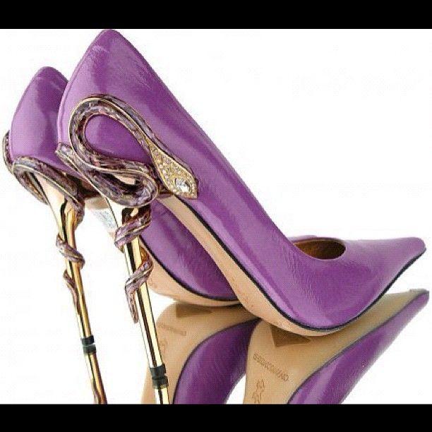 Sexy heels! #stilettos #pumps #heels #shoes #redbottoms #glam #fashion #instashoes #shoefanatics #spike #snake - @Marina Zlochin Berberic- #webstagram
