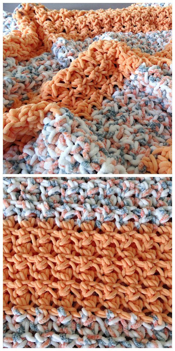 Glover Stitch Baby Blanket Free Crochet Pattern Hakenweven