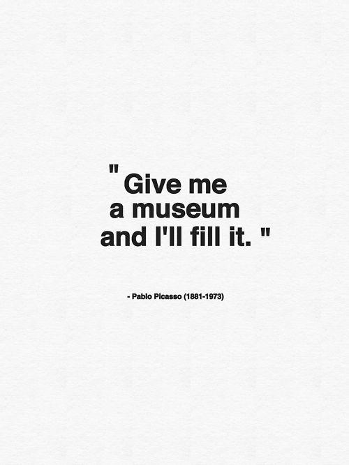 Picasso | Words | Kunst zitate, Zitate kunst, Sprüche zitate