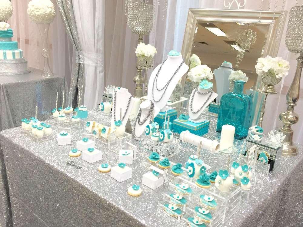 Tiffany & Co. Quinceañera Party Ideas In 2019