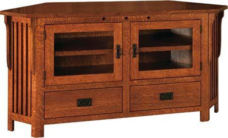 Tv Stand Designs Pdf : Woodwork mission corner tv stand plans pdf plans house stuff in
