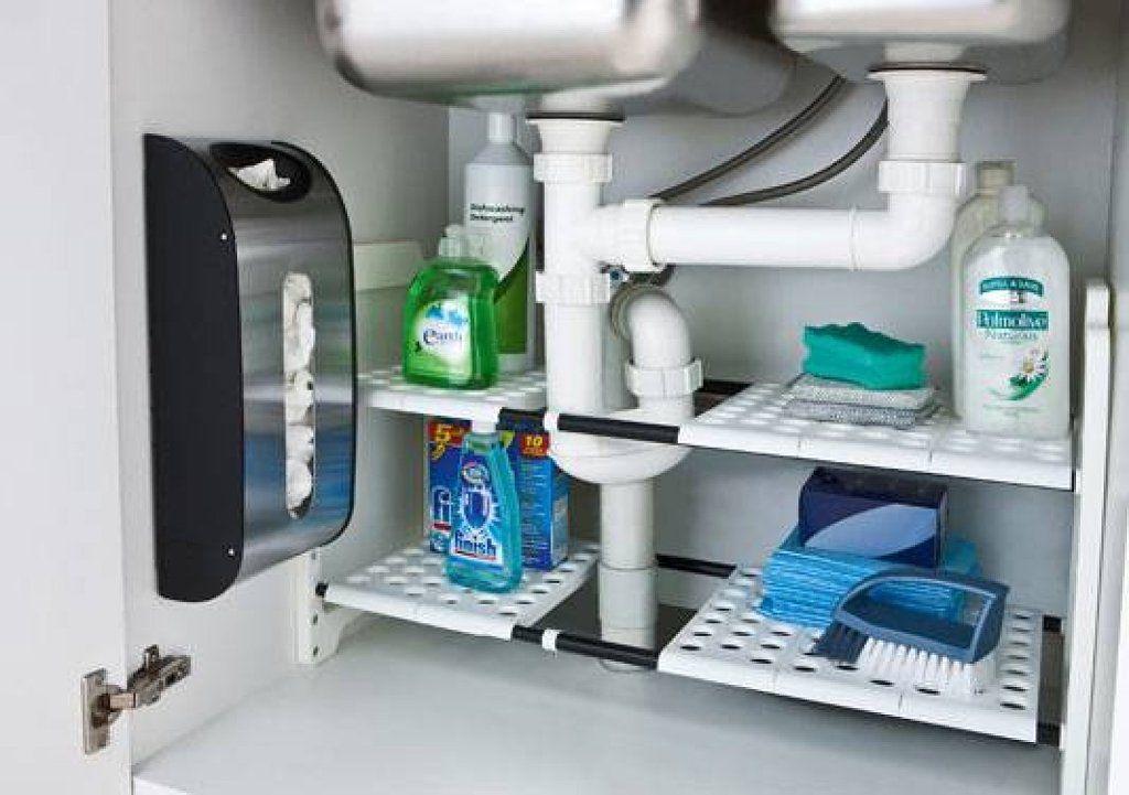 Trucos para ordenar la cocina nunca sabes fregaderos y for Organizador bajo fregadero ikea